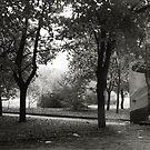 alley.morn.two by Nikolay Semyonov
