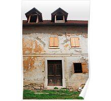 Historic Building in Skofja Loka 2 Poster