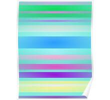 Stripes Art Light Poster