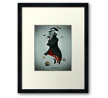 Halloween Vampire Framed Print