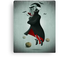 Halloween Vampire Canvas Print