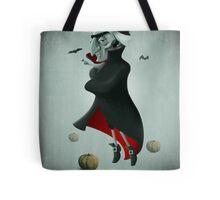 Halloween Vampire Tote Bag