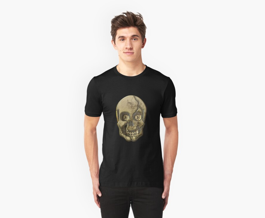Skull Clothing and Stickers by Vickie Emms
