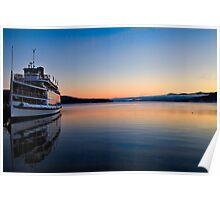 Lake George Boat Poster