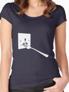 Life will find a way Women's Fitted Scoop T-Shirt