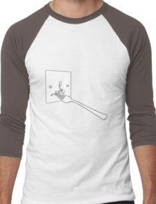 Life will find a way Men's Baseball ¾ T-Shirt