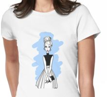 Fashion girl Womens Fitted T-Shirt
