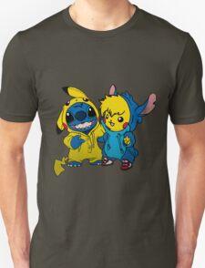 Pikachu & Stitch  T-Shirt