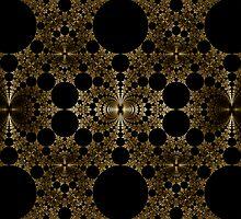 Gold Foil Gasket by Ross Hilbert
