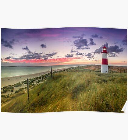 Lighthouse List East (Ellenbogen/Sylt) Poster