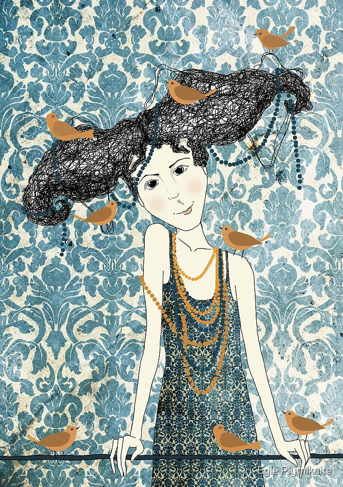 Birds Keeper by Egle Plytnikaite