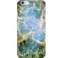 Supernova Remnant Position in Crab Nebula iPhone Case/Skin
