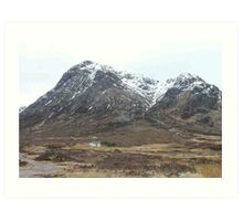 Cottage in Glencoe Art Print