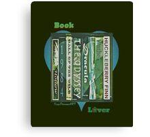 Book Lover 1 Canvas Print