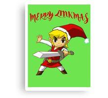 Merry Link,mas Canvas Print