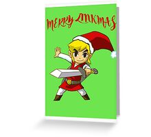Merry Link,mas Greeting Card