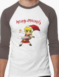 Merry Link,mas Men's Baseball ¾ T-Shirt