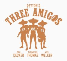 Peyton Manning's Three Amigos (Decker, Thomas & Welker) by Fantag® Tees