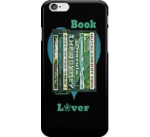 Book Lover 1 iPhone Case/Skin
