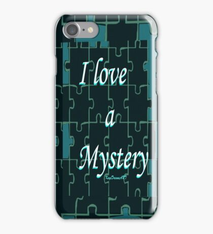 I love a Mystery Green Puzzle iPhone Case/Skin