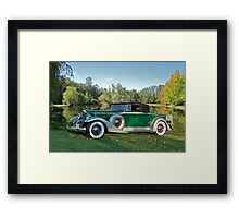 1933 Packard 1006 Convertible Framed Print