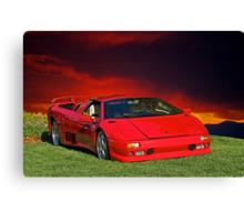 1998 Lamborghini Diablo VT Roadster Canvas Print