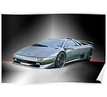 1998 Lamborghini Diablo II Poster