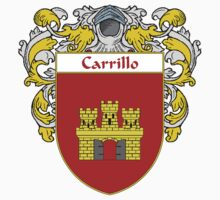 Carrillo Coat of Arms/Family Crest Kids Clothes