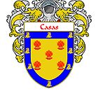 Casas Coat of Arms/Family Crest by William Martin