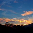 Sunset at Kinlochleven by Sue Fallon Photography