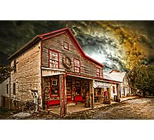 OLD WASHINGTON TOWN  Photographic Print