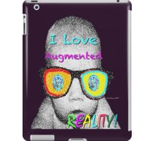 I Love Augmented Reality iPad Case/Skin