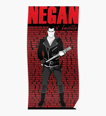 The Walking Dead - Negan & Lucille 5 Poster