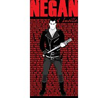The Walking Dead - Negan & Lucille 5 Photographic Print