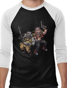 Hench Mutants Men's Baseball ¾ T-Shirt