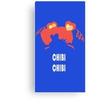 Chibi Chibi Canvas Print
