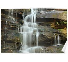 the freezing water at somersby falls Poster