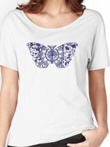 Polyphemus Moth Paper-Cut Women's Relaxed Fit T-Shirt