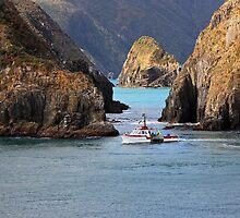 Crayfish boat by Duncan Cunningham