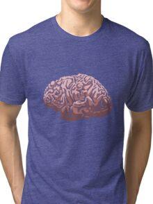 Human Brain Tri-blend T-Shirt