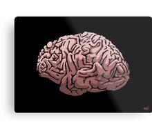 Human Brain Metal Print