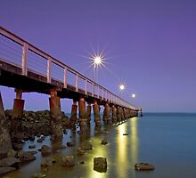 Wellington Point Twilight Qld Australia by Beth  Wode