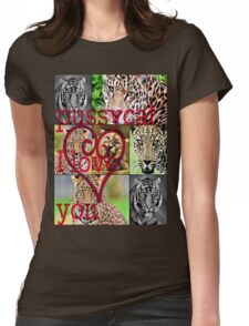 pussycat I love you Womens Fitted T-Shirt