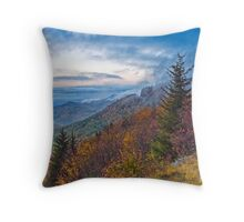 Fall Vista From the Blue Ridge Parkway Throw Pillow