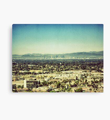 Looming L.A. Canvas Print