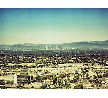 Looming L.A. Photographic Print
