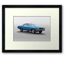 1967 Chevelle Super Sport SS396 Framed Print