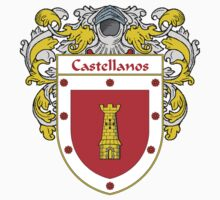 Castellanos Coat of Arms/Family Crest Kids Clothes