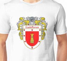 Castellanos Coat of Arms/Family Crest Unisex T-Shirt