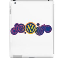 Dr Who VW Mash Up Tee - Gallifrey Volkswagen iPad Case/Skin